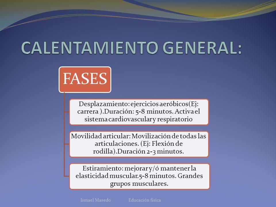 CALENTAMIENTO GENERAL: