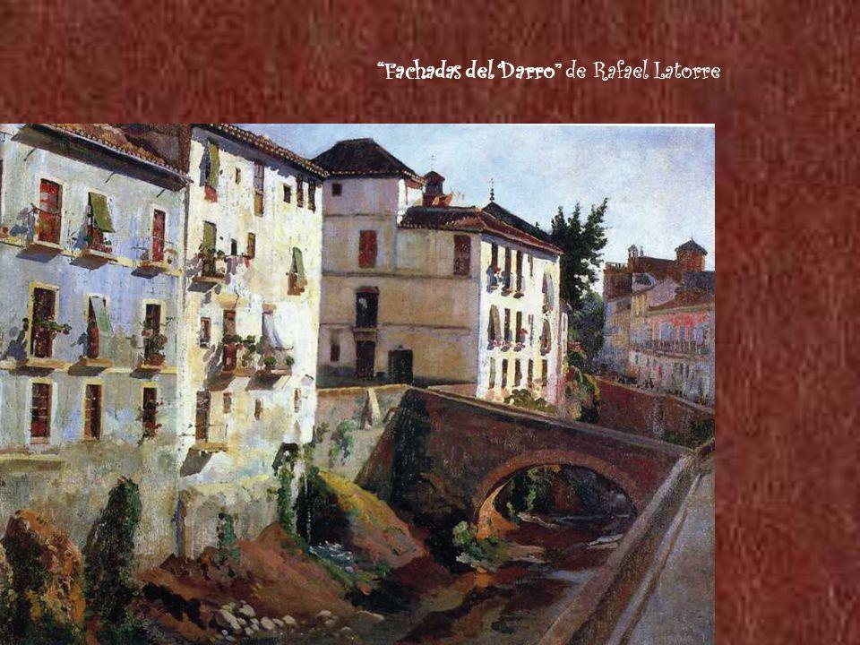 Fachadas del Darro de Rafael Latorre