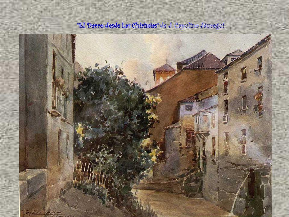 El Darro desde Las Chirimías de J. Capulino Jáuregui