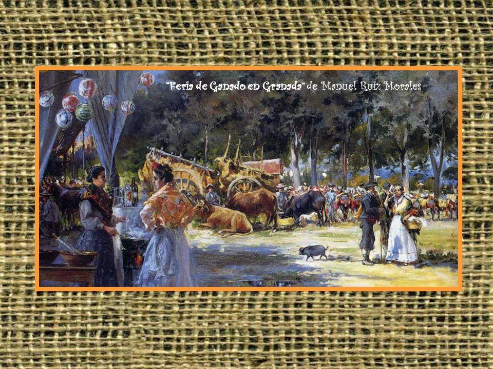 Feria de Ganado en Granada de Manuel Ruiz Morales