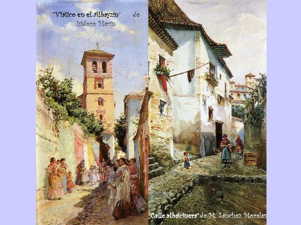 Viático en el Albayzín de Isidoro Marín