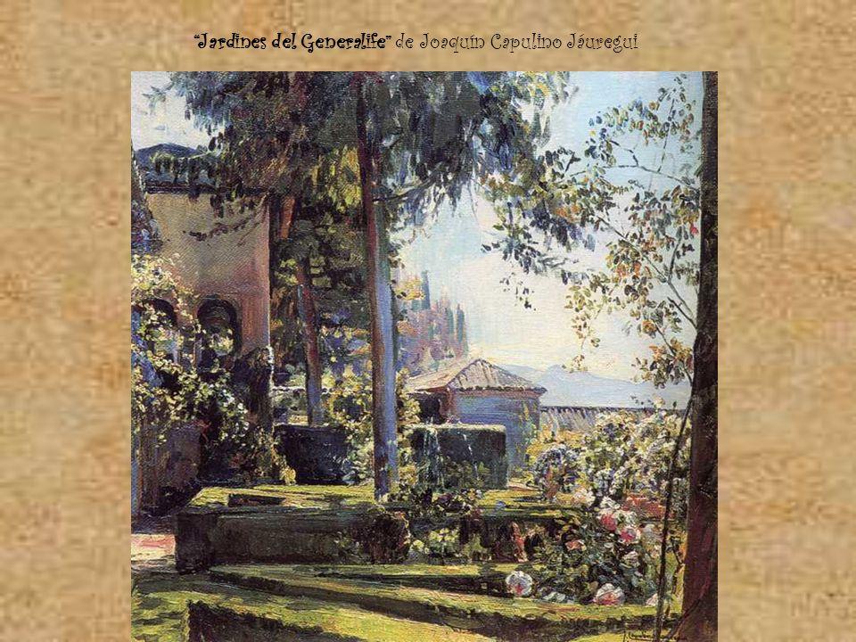 Jardines del Generalife de Joaquín Capulino Jáuregui