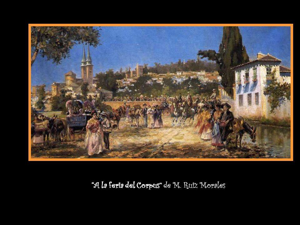 A la feria del Corpus de M. Ruiz Morales