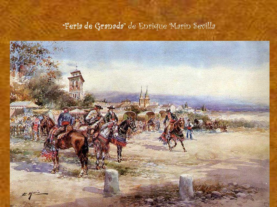Feria de Granada de Enrique Marín Sevilla