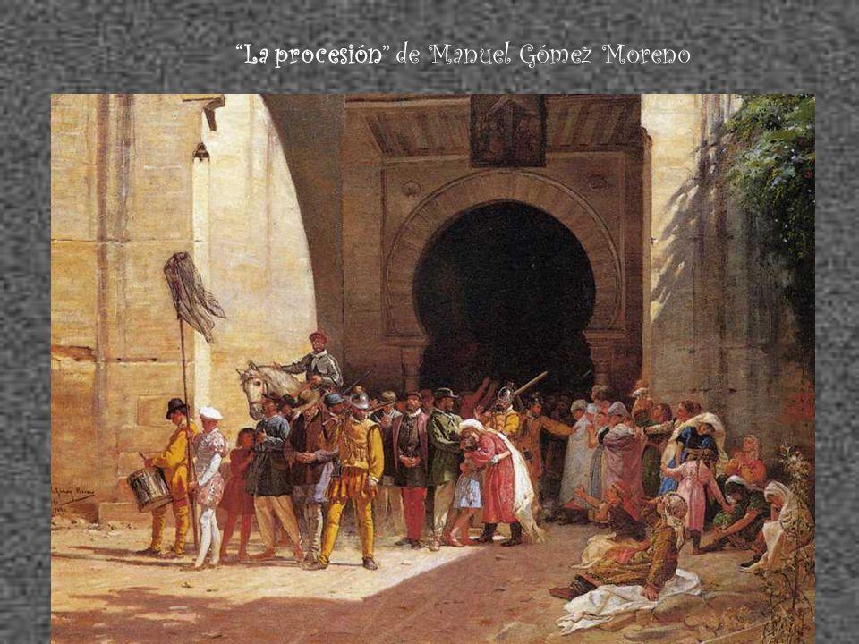 La procesión de Manuel Gómez Moreno