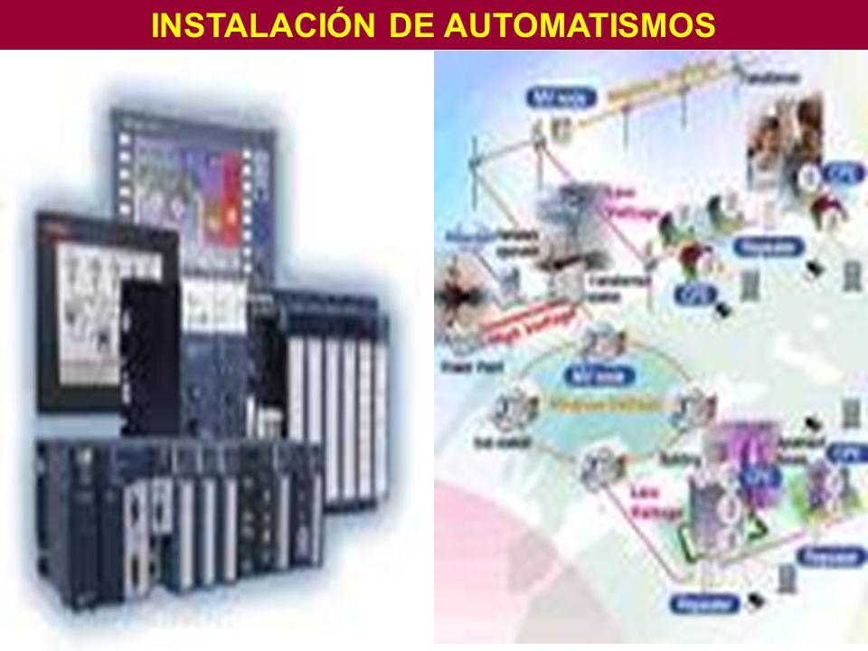 INSTALACIÓN DE AUTOMATISMOS