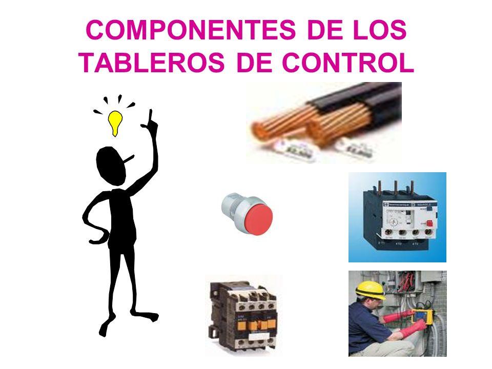 COMPONENTES DE LOS TABLEROS DE CONTROL