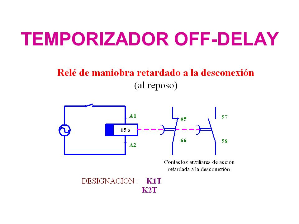 TEMPORIZADOR OFF-DELAY