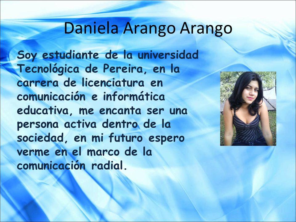 Daniela Arango Arango