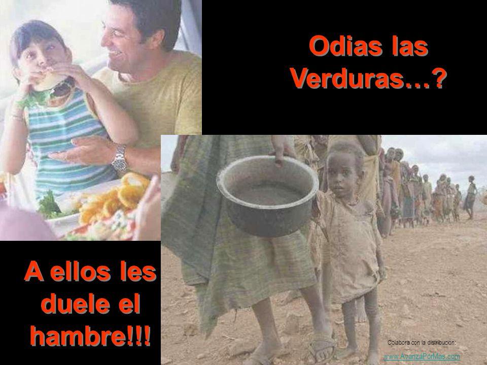 A ellos les duele el hambre!!!