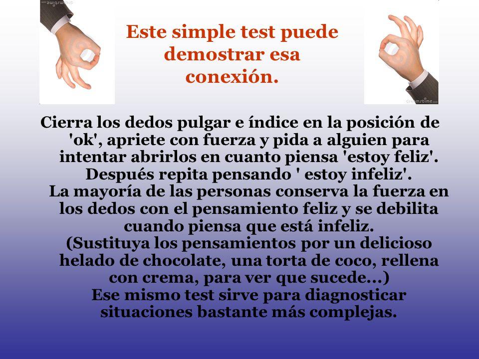 Este simple test puede demostrar esa conexión.