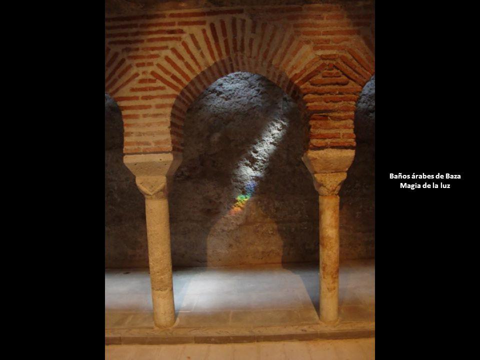 Baños árabes de Baza Magia de la luz