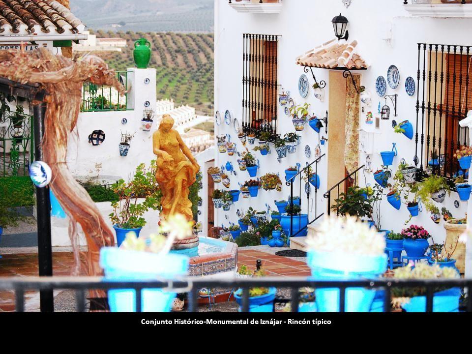 Conjunto Histórico-Monumental de Iznájar - Rincón típico