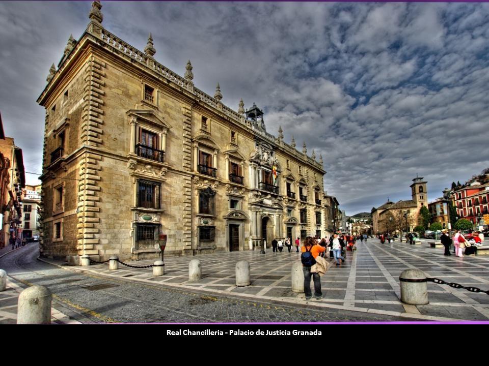 Real Chancilleria - Palacio de Justicia Granada
