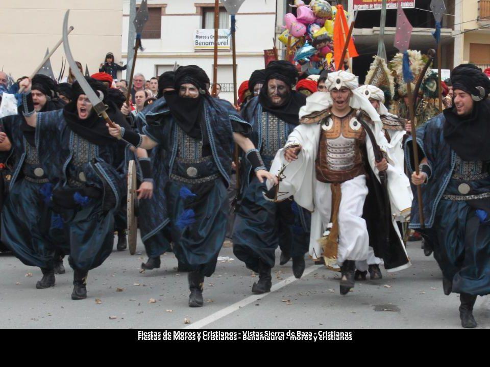 Fiestas de Moros y Cristianos - Vistas Sierra de Baza - Cristianas