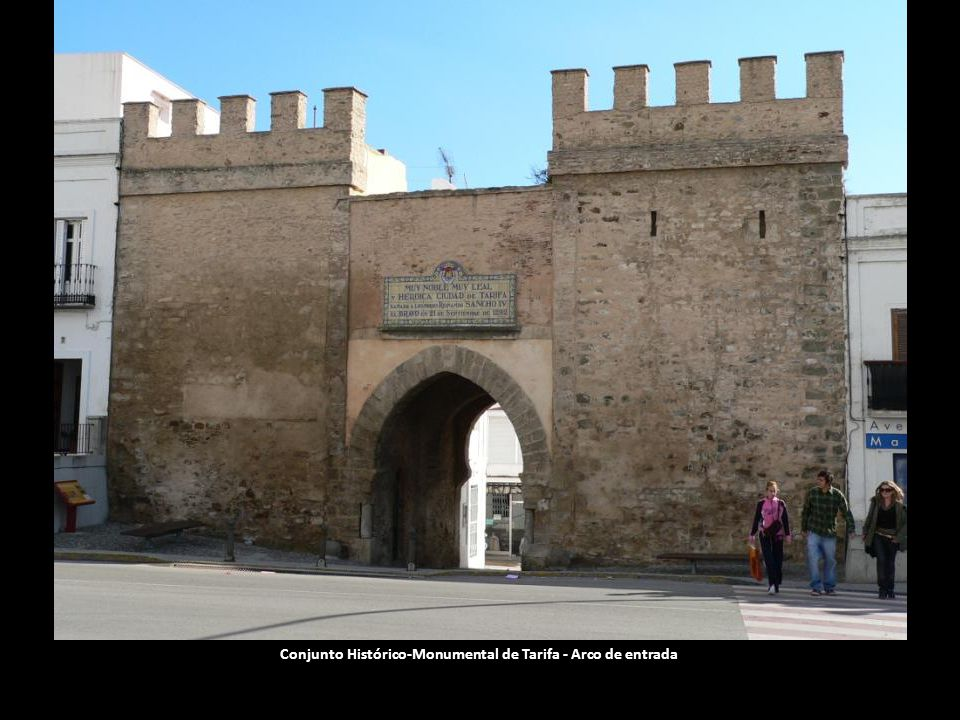 Conjunto Histórico-Monumental de Tarifa - Arco de entrada