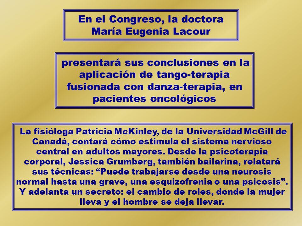 En el Congreso, la doctora María Eugenia Lacour