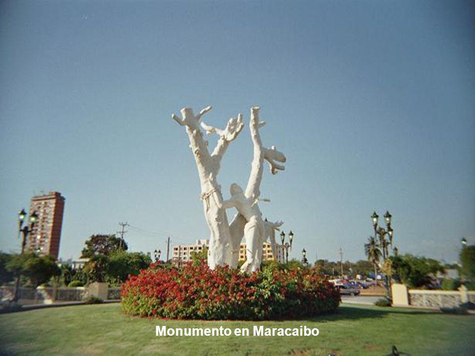 Monumento en Maracaibo