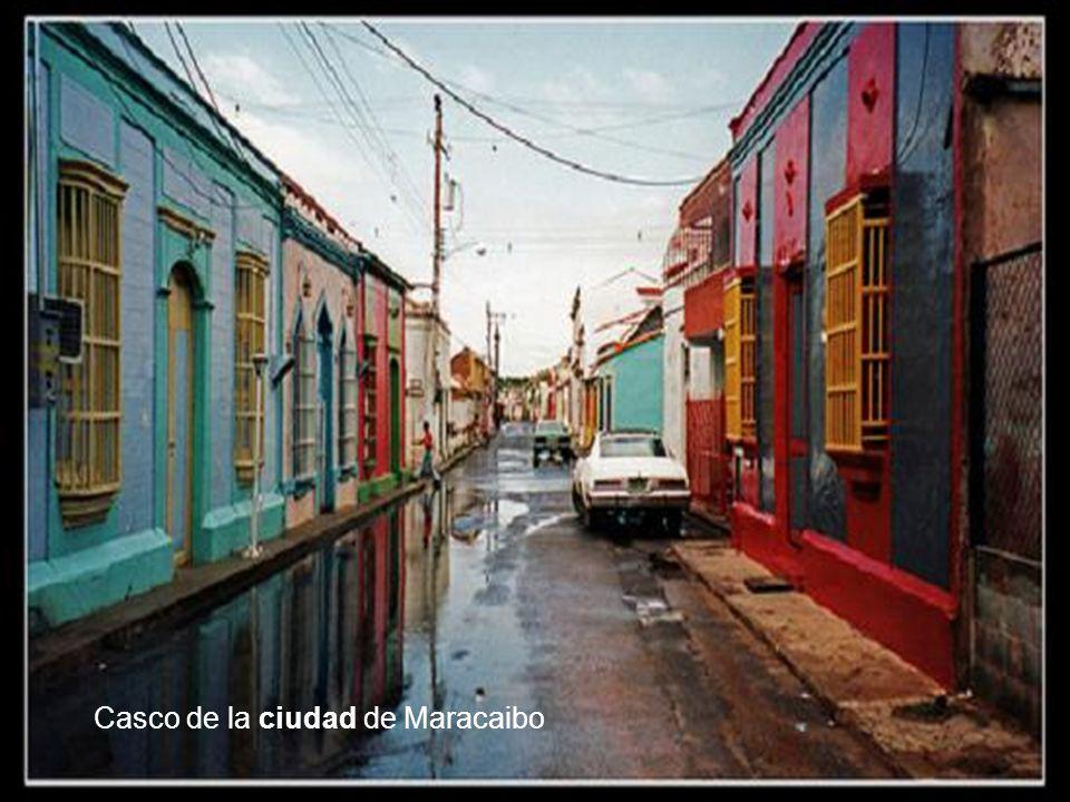 Casco de la ciudad de Maracaibo