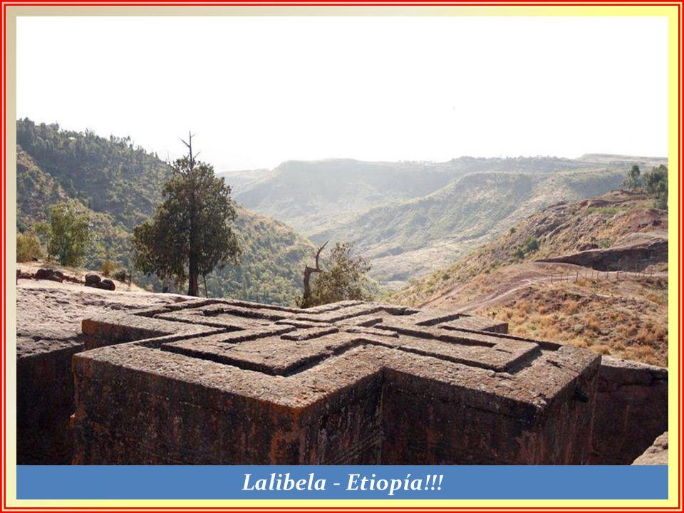 Lalibela - Etiopía!!!