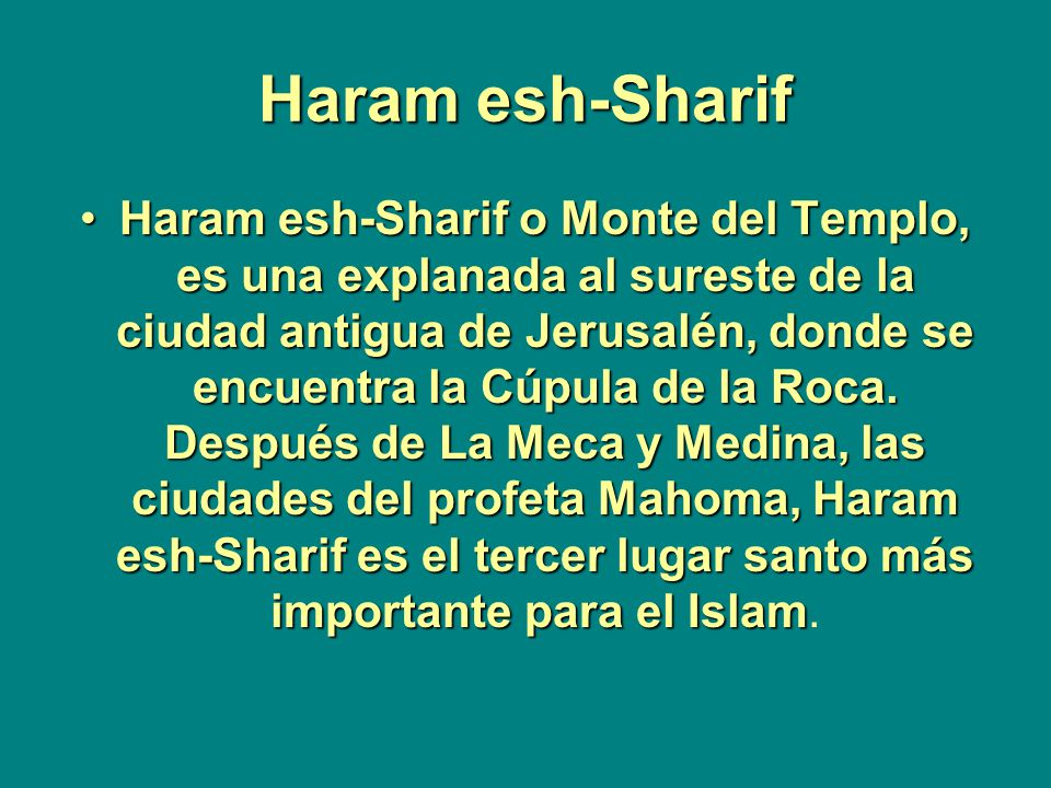 Haram esh-Sharif