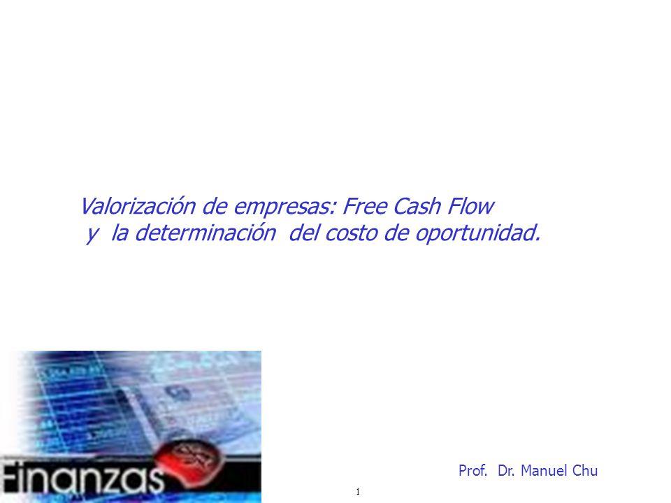 Valorización de empresas: Free Cash Flow