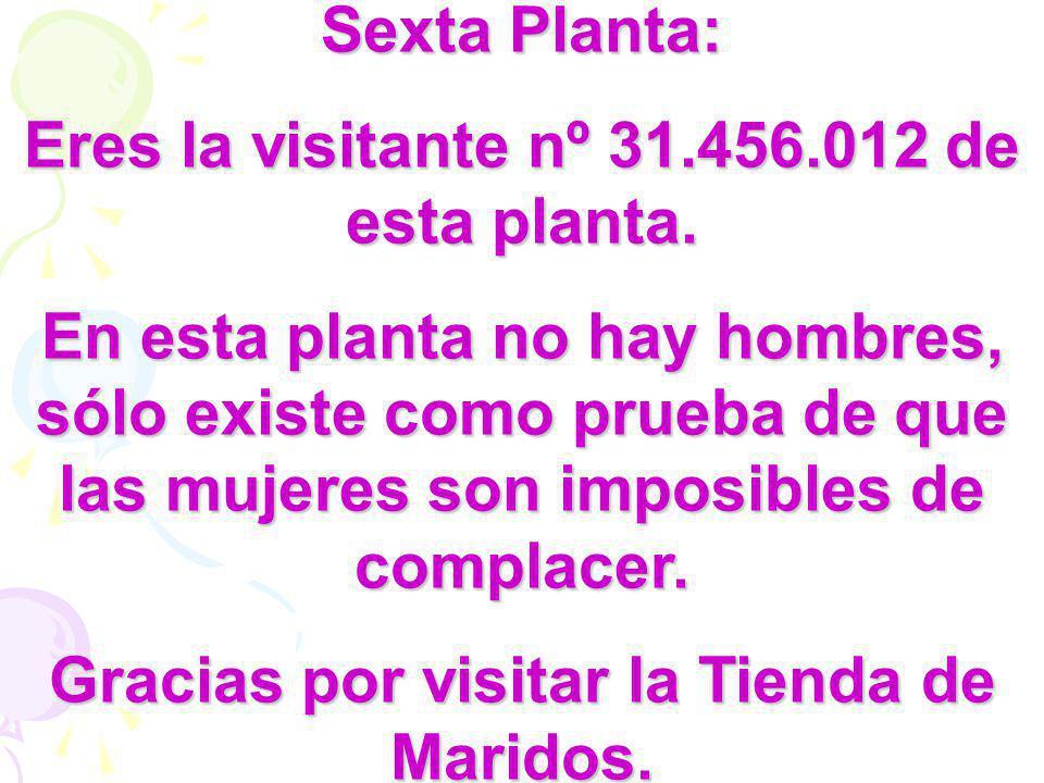 Eres la visitante nº 31.456.012 de esta planta.