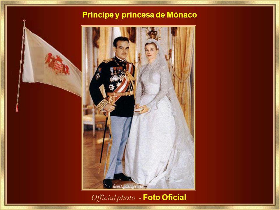 Príncipe y princesa de Mónaco