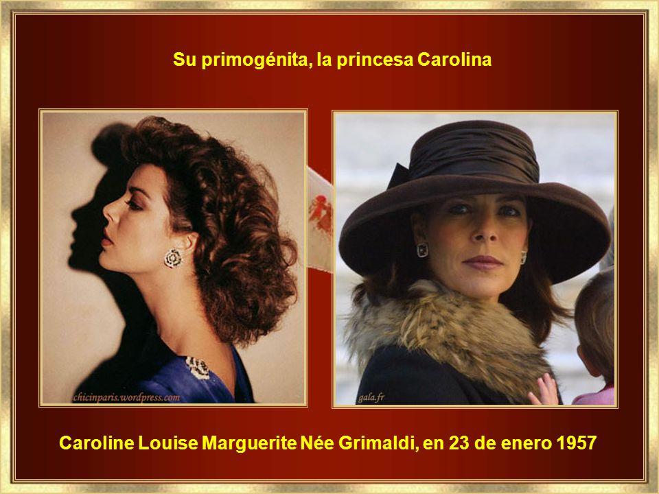 Su primogénita, la princesa Carolina