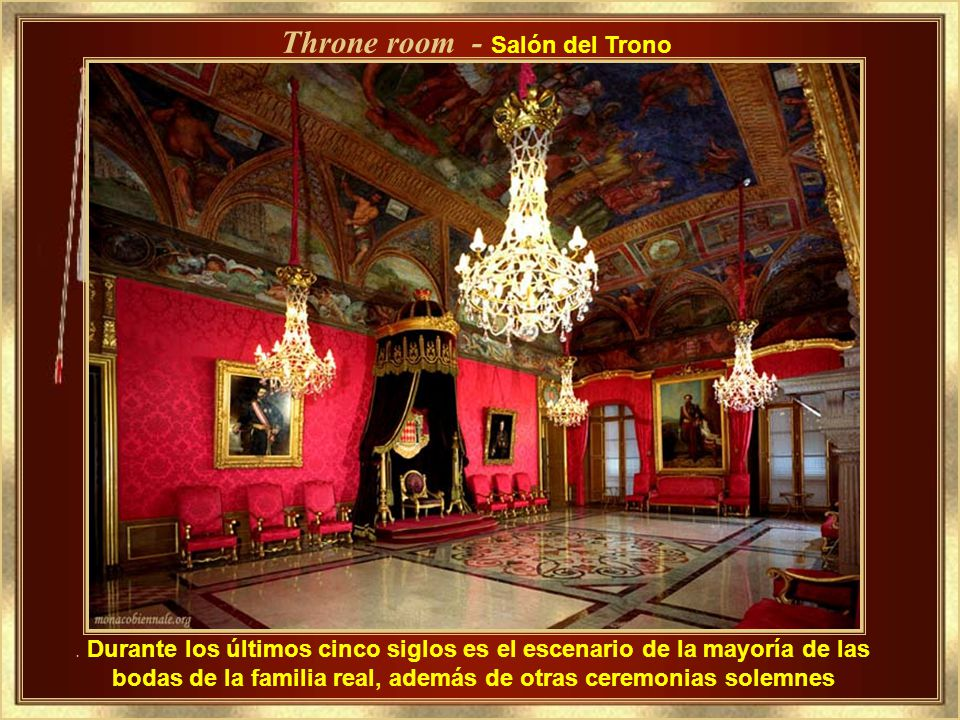 Throne room - Salón del Trono