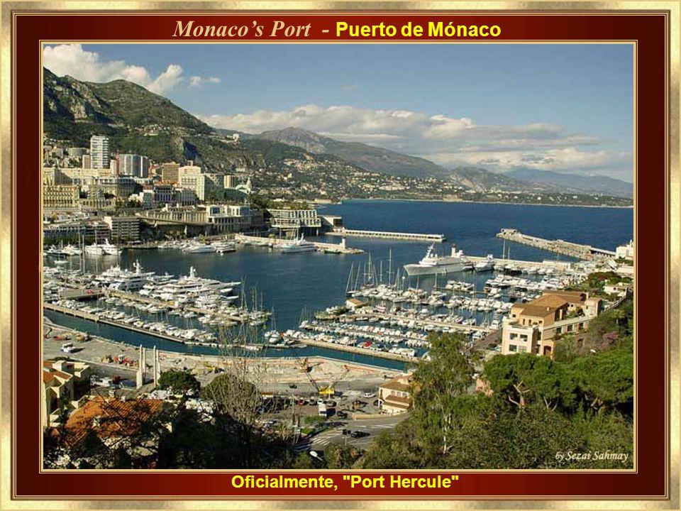 Monaco's Port - Puerto de Mónaco Oficialmente, Port Hercule