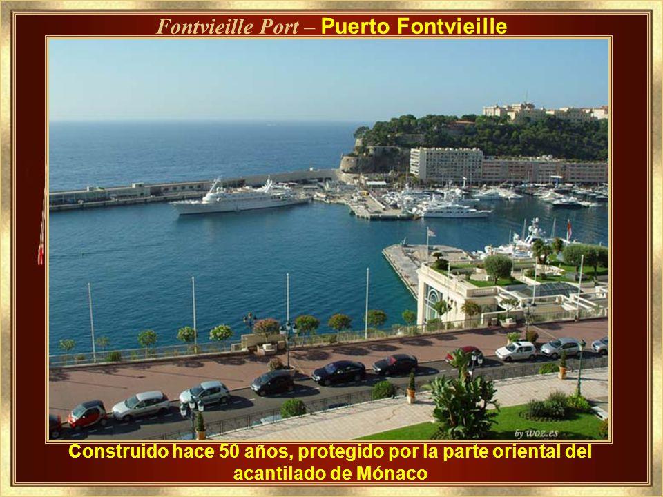 Fontvieille Port – Puerto Fontvieille
