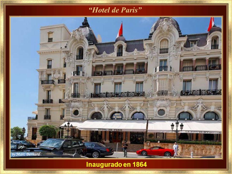 Hotel de Paris Inaugurado en 1864