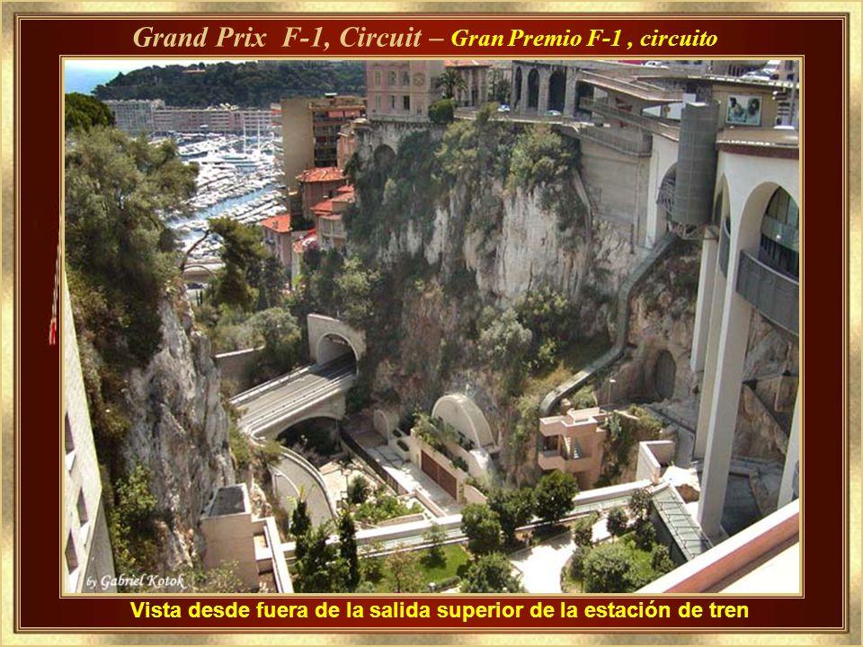 Grand Prix F-1, Circuit – Gran Premio F-1 , circuito