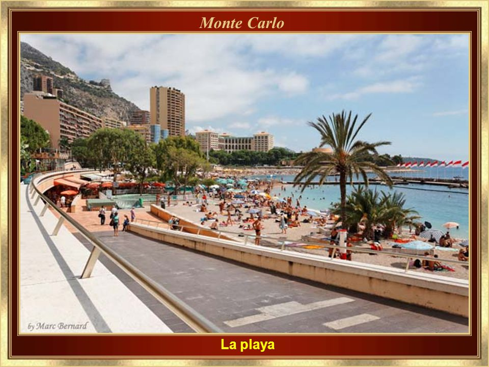 Monte Carlo La playa