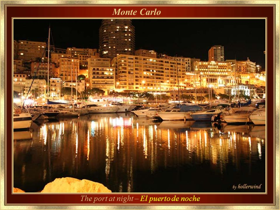 The port at night – El puerto de noche