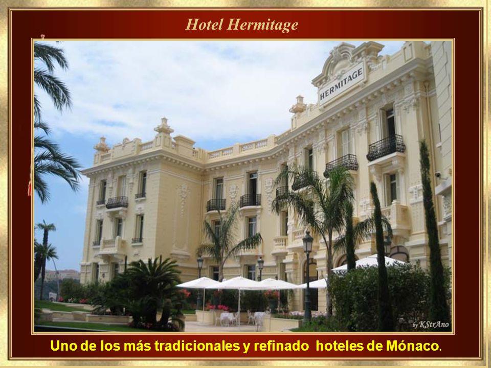 Uno de los más tradicionales y refinado hoteles de Mónaco.