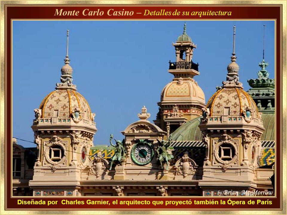 Monte Carlo Casino – Detalles de su arquitectura