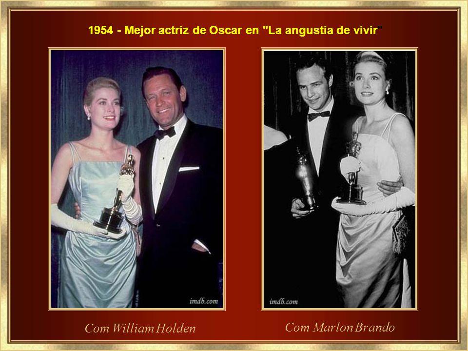 1954 - Mejor actriz de Oscar en La angustia de vivir