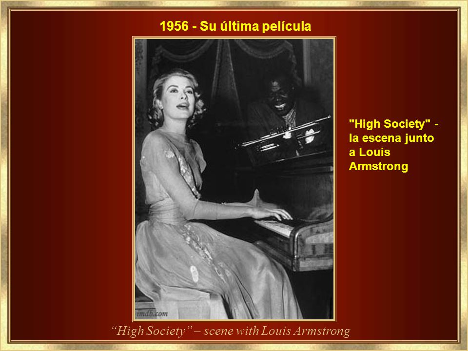 High Society – scene with Louis Armstrong