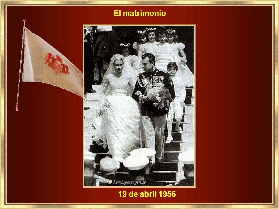 El matrimonio 19 de abril 1956