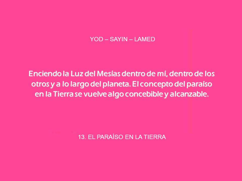 YOD – SAYIN – LAMED