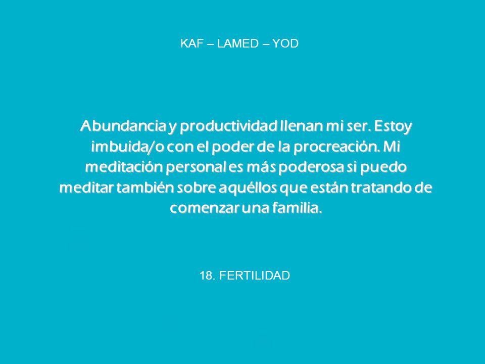 KAF – LAMED – YOD