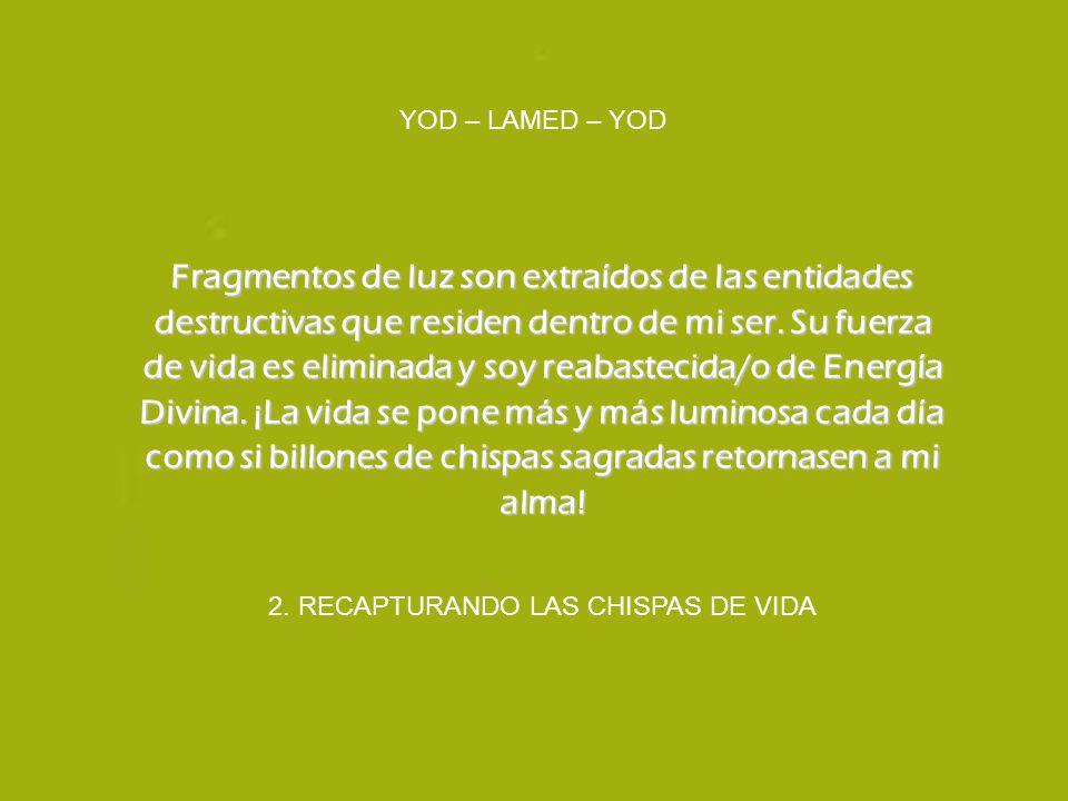 2. RECAPTURANDO LAS CHISPAS DE VIDA