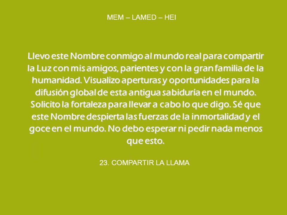 MEM – LAMED – HEI