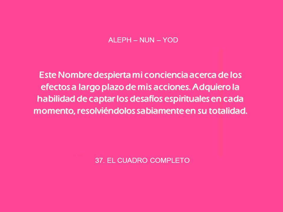 ALEPH – NUN – YOD