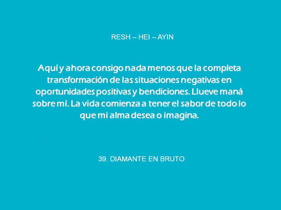 RESH – HEI – AYIN
