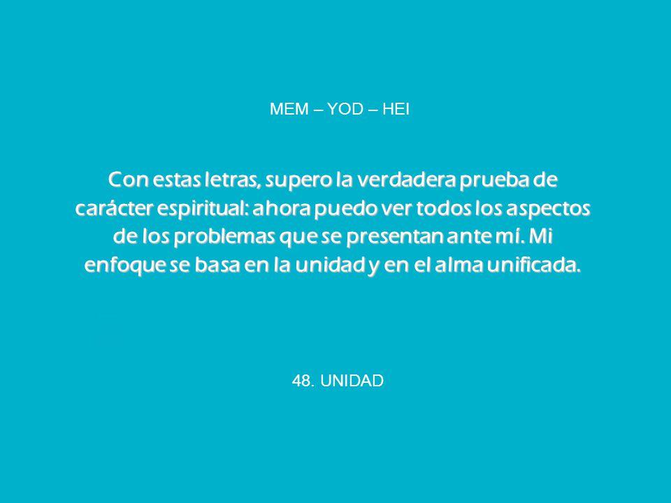 MEM – YOD – HEI