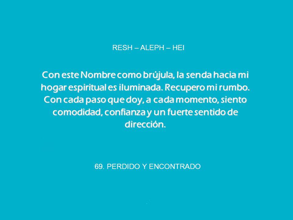 RESH – ALEPH – HEI