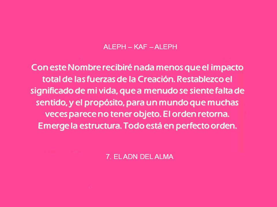 ALEPH – KAF – ALEPH